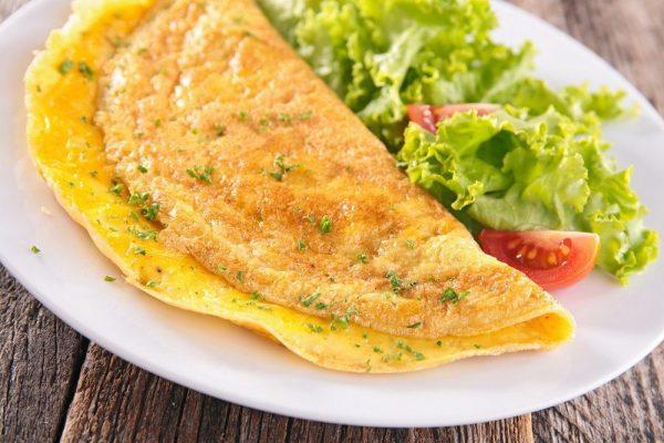 Ricetta Omelette In Francese.Omelette Alla Francese